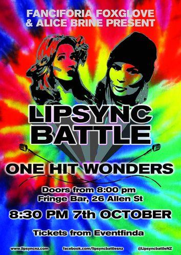 Lip Sync Battles Wellington: One Hit Wonders