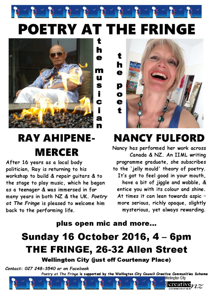 Poetry At The Fringe