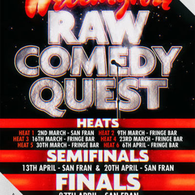 Raw Comedy Quest 2017